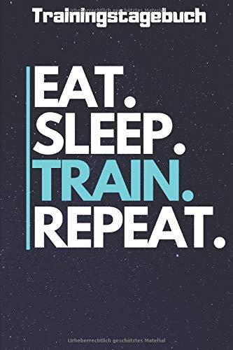 Trainingstagebuch DIN A5  5x Trainingspläne für Anfänger und Fortgeschrittende: Trainingshandbuch für Männer und Frauen  Ideal fürs Krafttraining, ...   Robust und Praktisch gestaltet für das Gym