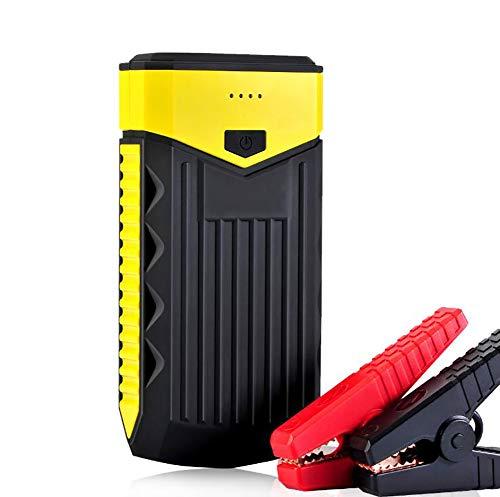 Comprajunta 600A 10000Mah Jump Starter Kits Portable Power Bank 12V (Jusqu'à 4,0 L D'essence, Moteur Diesel De 2,8 L) Chargeur pour Téléphones Mobiles,Tablettes