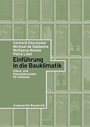 Einfuhrung in Die Bauklimatik (German Edition)