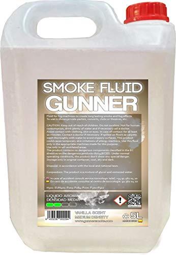 Liquido per macchine del fumo, a media densità, fragranza vaniglia, 5 L