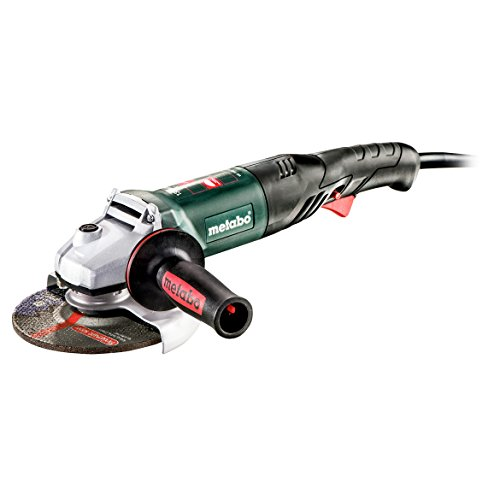 """Metabo- 6"""" Angle Grinder - 9, 000 Rpm - 13.2 Amp W/Electronics, Lock-On, RAT Tail (601242420 1500-150 RT), Performance Grinders"""