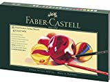 Faber-Castell 210051 Mixed Media Polychromos - Juego de 20 lápices con accesorios, multicolor