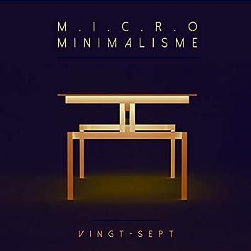 Micro Minimalisme Vol. Vingt-Sept