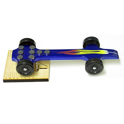 Maximum Velocity Pine Derby Car Tool | Derby Car Center of Gravity Stand | Accurately & Easily Measure COG for Pinewood Car Kits