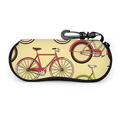 Ride Bicycle Bike Sport - Funda para gafas de sol (portátil, con cremallera)