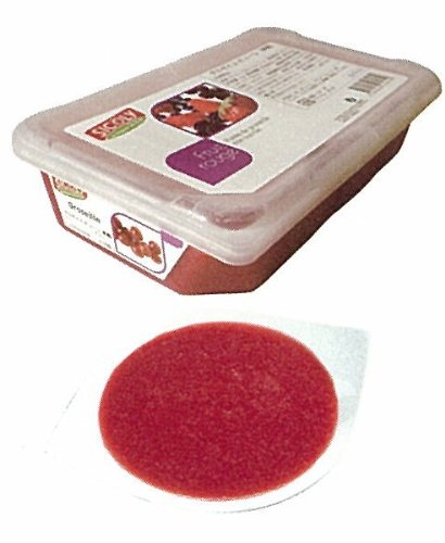 【シコリ】冷凍グロゼイユ(レッドカラント)ピューレ(無糖) 1kg<赤すぐり>