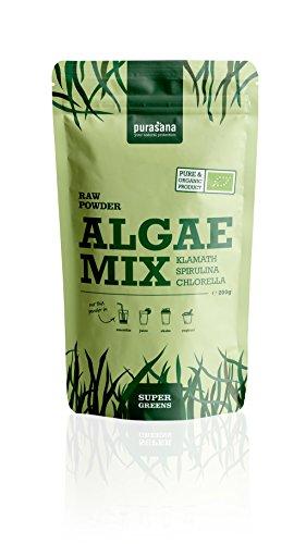 Purasala - Algae Mix Spiruline Chlorrela Klamath Poudre - 200g