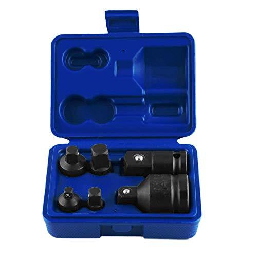 ZYL-YL 6 unids/set llave de mano conjunto de herramientas de impacto Socket adaptador reductor 1/4 1/2 3/8 3/4 trinquete disyuntor
