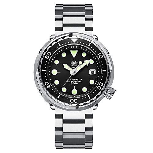 ADDIESDIVE Diver 300 Metri Orologio Subacqueo Uomo,Luminescente Chromalight...