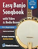 Easy Banjo Songbook for Beginners with Video & Audio Access
