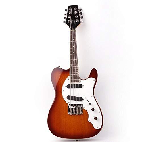 MLKJSYBA Guitarra 8 Cuerdas Eléctricas Guitarra Acústica De Acero Guitarras Guitarra Cuerdas...
