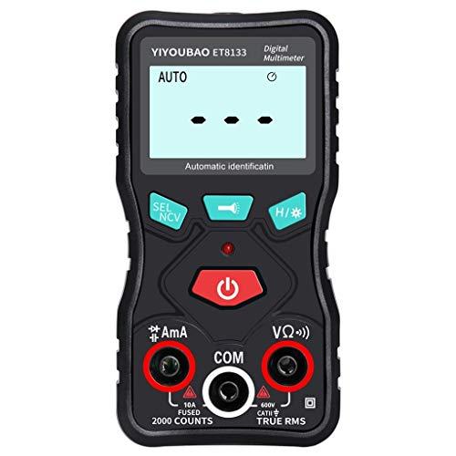 Dergo  ET8133 Digital Multimeter LCD AC/DC Ammeter Resistance Counts Display...