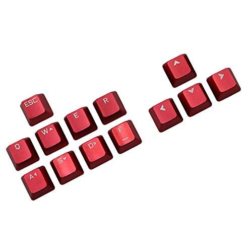 Tapa de llave de metal reemplazable para teclado mecánico con eje transversal