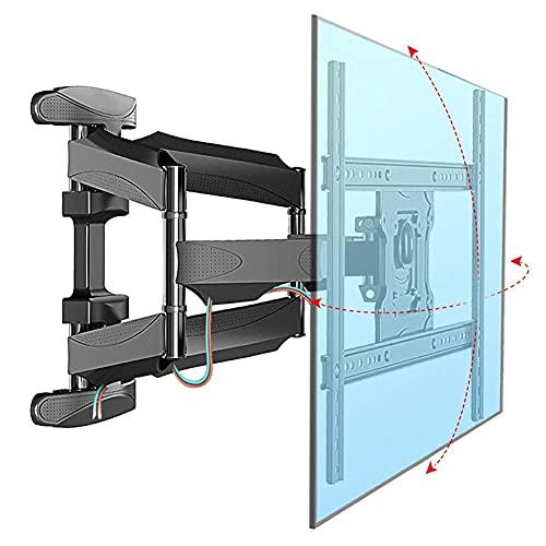 Equipo para el hogar Soporte para TV Soportes robustos para TV Soporte articulado de montaje en pared para la mayoría de televisores de pantalla plana LCD OLED y plasma de 32 70 pulgadas con patron