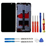 swark LCD Compatible with Huawei Mate 9 mate9 MHA-L09 MHA-L29 Display Digitizer Touch Screen Assembly with Frame (Black) + Tools