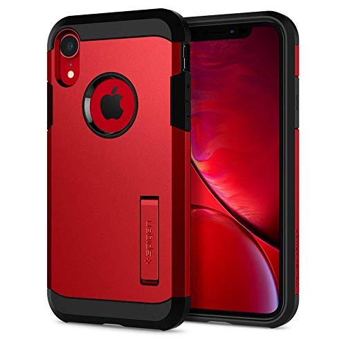 Spigen Tough Armor Designed for iPhone XR Case (2018) - Red