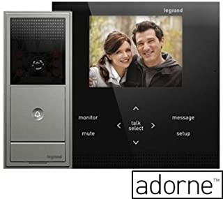 ON-Q Adorne Intercom Adorne Video Intercom Kit Magnesium (AI6100M1)