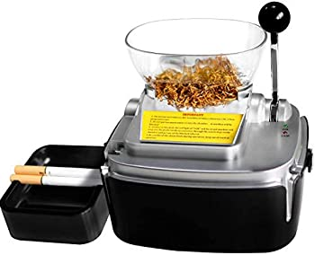 Electric Cigarette Injector Maching,Cigarettes Make 100mm and 8mm Diameter Pipe Tobacco Rolling Automatic Joint Roller Machine Cigarette Injecting Machine for Home Use  Cigarette Rolling Machine)