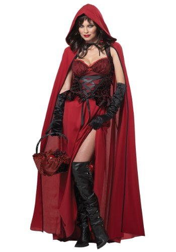 California - Disfraz de Caperucita Roja para Halloween para Mujer, Talla M (213096)