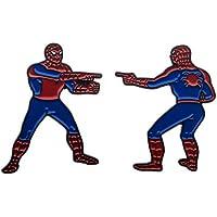 Marvel The Spider-Man Double Identity Enamel 2 Pin Set