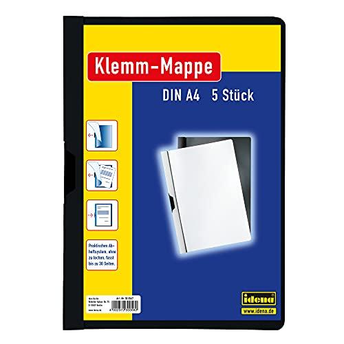 Idena 300567 - Klemmmappe für DIN A4,...