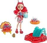 Enchantimals Muñeca Mundo Acuático Cameo Crab con accesorios (Mattel FKV60) , color/modelo surtido