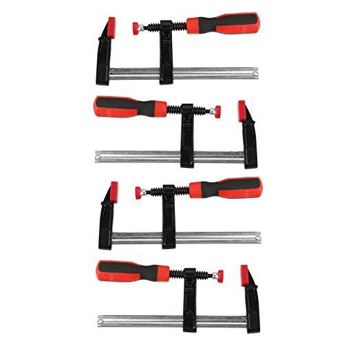 Schraubzwingen-Set, Bar Clamp Heavy F Klemmen Quick Slide, DIY Handwerkzeug Kit, Schraubzwingen aus Werkzeugstahl 3 Größen (4-tlg 50x150mm)
