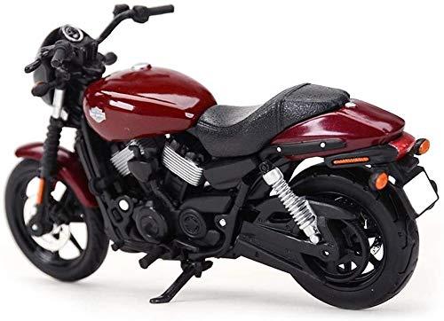 SHOP YJX Motorrad-Modell Harley 2015 Straße 750 Straße Lokomotive Simulation Legierung Druckguss-Spielzeug...