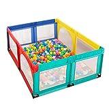 Baby laufgitter Parque de Juegos para bebés Grandes con tapete/Pelotas, bolígrafos Plegables para niños Juego de Centro de Actividades para niños (Tamaño : 200×250×70cm)