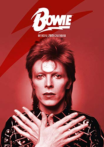 David Bowie Official 2019 Calendar - A3 Wall Calendar Format