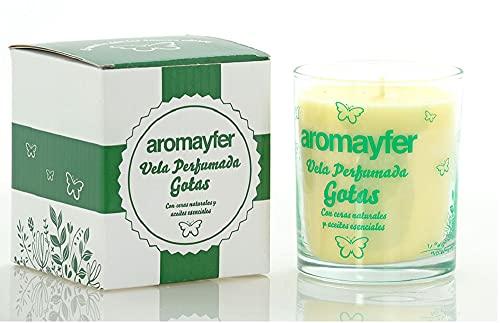 Mayfer Aromayfer - Vela perfumada, 200 gr