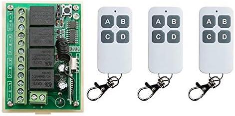 Calvas NEW DC12V 4CH Portland Mall 4Channe 10A RF swit control wireless Super sale remote