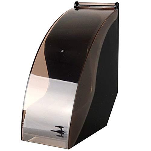 SODIAL V60 Filter Papier Halter/Konische Filter Papier Box Filter Papier Lager Regal St?nder Kaffee Werkzeuge Staubdicht Mit Deckel