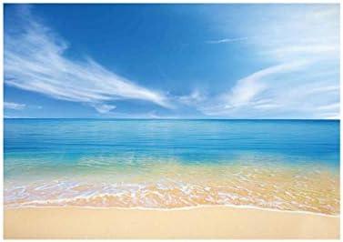 Blauwe lucht en witte wolken waterdicht kleurrijk afdrukken tafelkleed 137183 kleurrijk