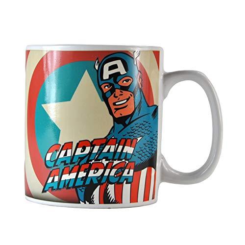 Marvel Comics - Taza térmica capitán...