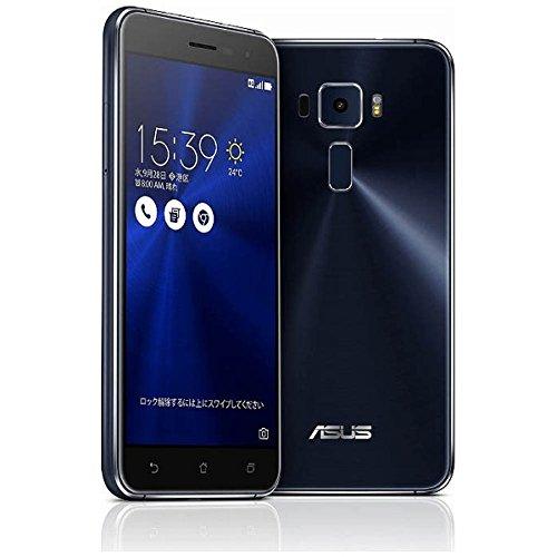 エイスース SIMフリースマートフォン ZenFone 3(Qualcomm Snapdragon 625/メモリ 3GB)32GB サファイアブ...