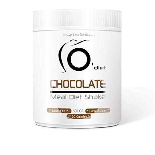 Shake Dietetico Proteico al gusto CIOCCOLATO pasto sostitutivo Meal Diet Shake Line@Diet, Altissima solubilità (CIOCCOLATO)