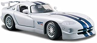 Maisto 1:24 Scale Dodge Viper GT2 Diecast Vehicle (Colors May Vary)