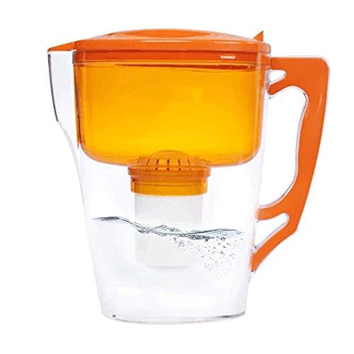 WCJ waterreiniger ideaal waterfilter kan 1,5 liter draagbare filter waterzuivering cup verminderen kalk en chloor en zware metalen