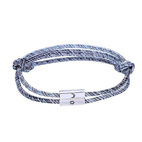 GODXUE-Paar Armband,Paar Modelle koreanische Version des kreativen saugen,Männer und Frauen Studenten einfache geflochtene Seil,-Absaugen
