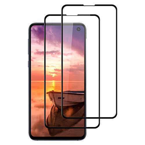 DASFOND 2 Piezas Protector Pantalla de Samsung Galaxy S10e Cristal Templado [Cobertura Completa, 9H Dureza, Alta Definicion, Alta sensibilidad, Protector de Pantalla para Samsung Galaxy S10e-Negro