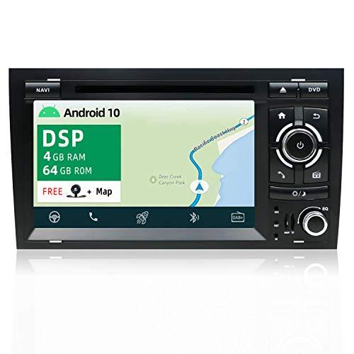 YUNTX PX6+DSP Android 10 Autoradio Apta para Audi A4 / S4 /...