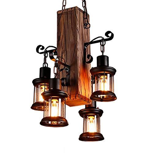 IBEST Lámparas pendientes de la vendimia Hierro retro luces