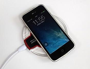 Fantasy Qi Wireless Charging Mini Pad for Apple iphone 5,iphone 5S,iphone 5C,iphone 6,iphone 6S,iphone 6S Plus,iphone 6 Plus,ipod Touch Wireless Charger [Black]