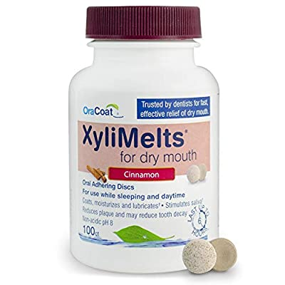 OraCoat XyliMelts Dry Mouth Relief Moisturizer