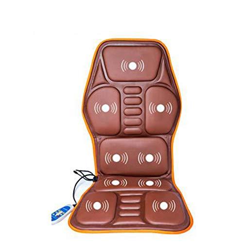 LDGSC Auto massage stoel Auto Home Office Full-Body Massage Kussen.Warmte Vibrate Matras.Terug Hals Massage Stoel Massage Relaxatie Auto Stoel 12V