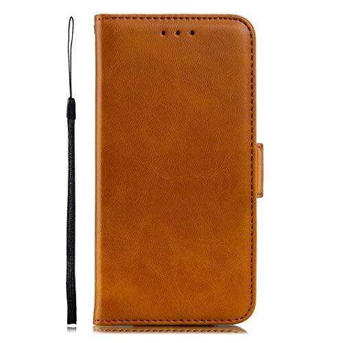 QiuKui Case para Xiaomi MI 9 5X 6X A1 A2 MI 8 Lite, Cubierta de teléfono de Cuero de PU Retro para Redmi 8A Note 7 Pro Redmi 6 6A 3 Pro 3S S2 Y2 4A Nota 4