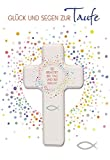 Glück und Segen zur Taufe: Glückwunschkarte