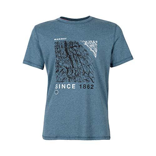 Mammut Herren Sloper T-Shirt, Sapphire Melange, L