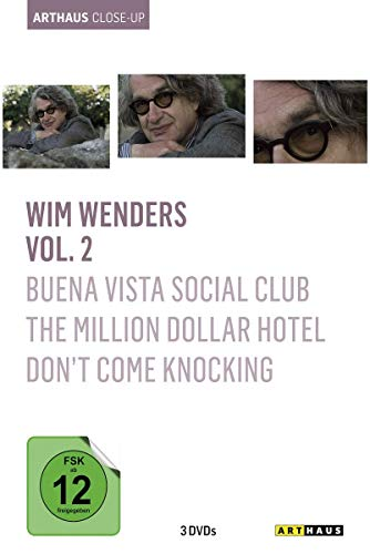 Wim Wenders - Arthaus Close-Up, Vol. 2 ( Buena Vista Social Club / The Million Dollar Hotel / Don't Come Knocking ) [3 DVDs]